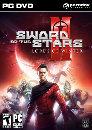 Cover for Sword of the Stars II: The Lords of Winter.