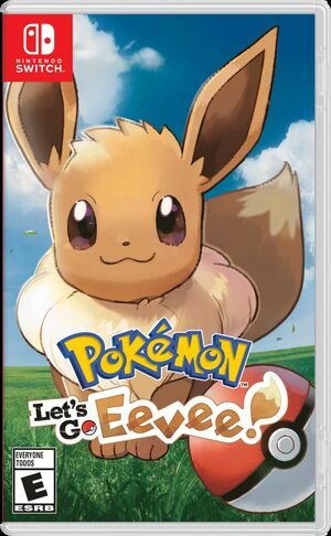 Cover for Pokémon Let's Go, Eevee!.