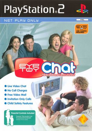 Cover for EyeToy: Chat.