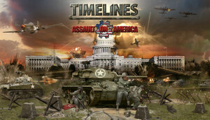 Cover for Timelines: Assault on America.