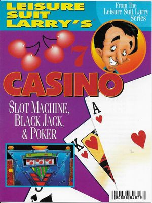 Cover for Crazy Nick's Software Picks: Leisure Suit Larry's Casino.