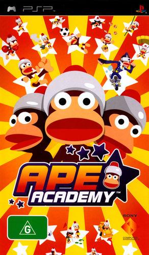 Cover for Ape Escape Academy.