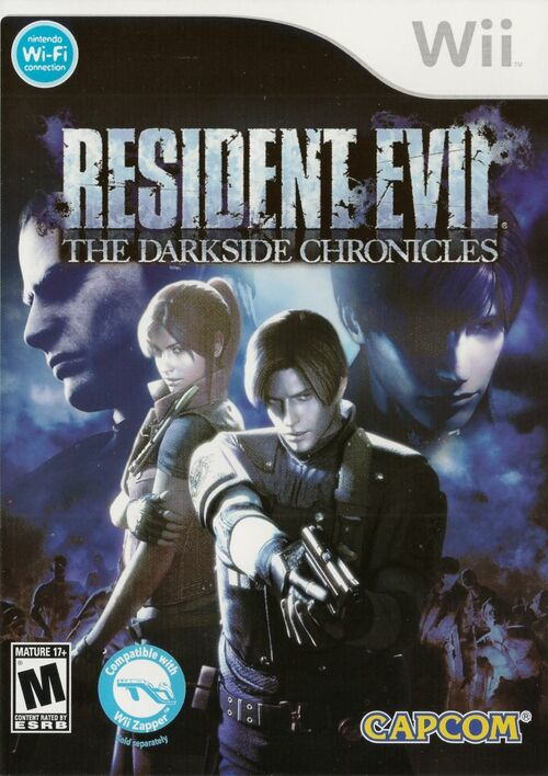 Cover for Resident Evil: The Darkside Chronicles.