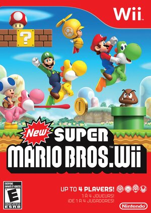 Cover for New Super Mario Bros. Wii.