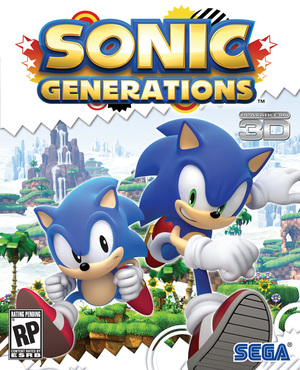 Cover for Sonic Generations.