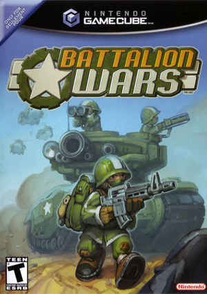 Cover for Battalion Wars.