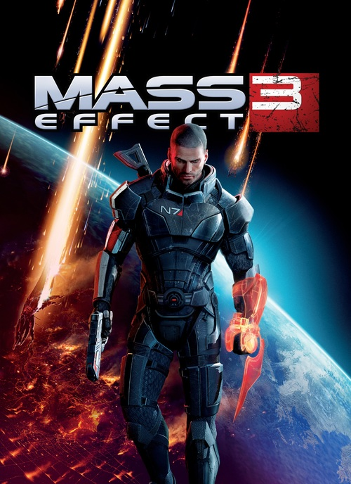 Cover for Mass Effect 3.