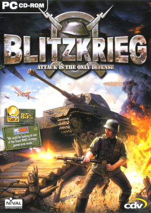 Cover for Blitzkrieg.
