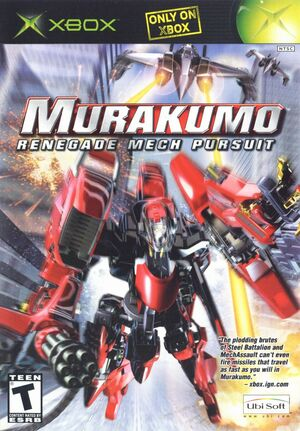 Cover for Murakumo: Renegade Mech Pursuit.