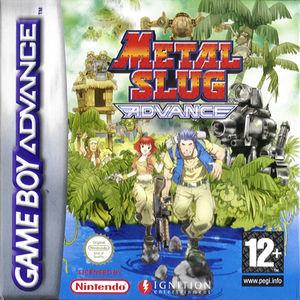 Cover for Metal Slug Advance.