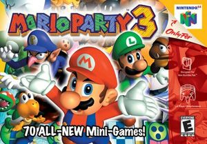 Cover for Mario Party 3.