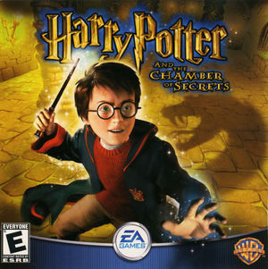 Cover for Harry Potter and the Chamber of Secrets.