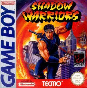 Cover for Ninja Gaiden Shadow.