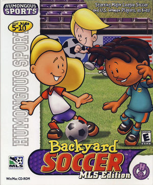 Cover for Backyard Soccer MLS Edition.