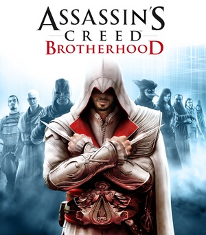 Cover for Assassin's Creed: Brotherhood.