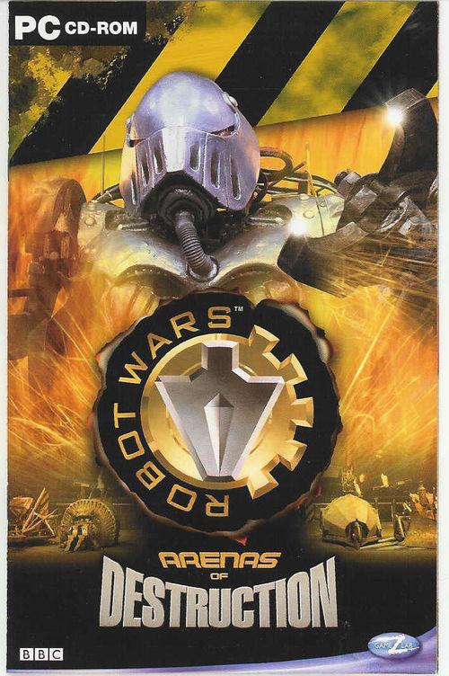 Cover for Robot Wars: Arenas of Destruction.