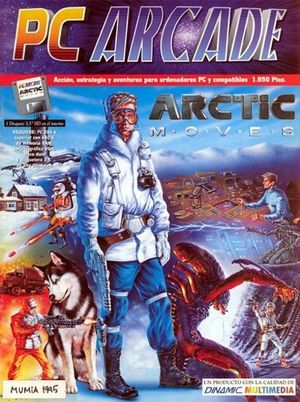 Cover for Arctic Moves.