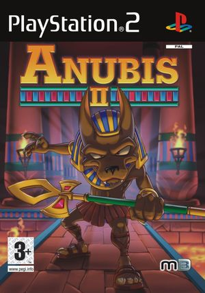 Cover for Anubis II.