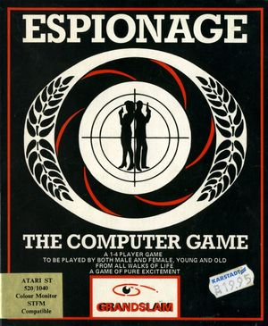 Cover for Espionage.