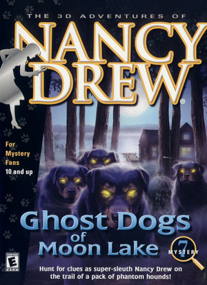 Cover for Nancy Drew: Ghost Dogs Of Moon Lake.