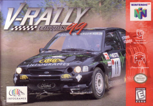 Cover for V-Rally.