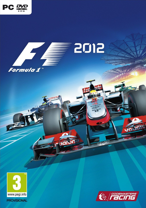 Cover for F1 2012.