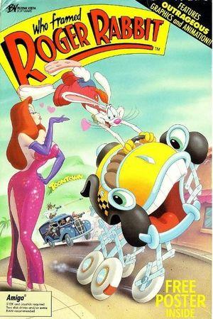 Cover for Who Framed Roger Rabbit.
