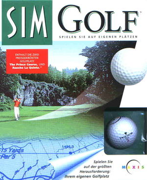 Cover for SimGolf.