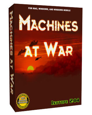Cover for Machines at War.