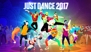 Cover for Just Dance 2017.