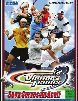 Cover for Virtua Tennis 3.