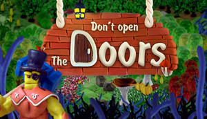 Cover for Don't open the doors!.