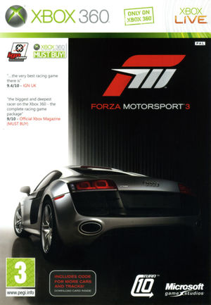 Cover for Forza Motorsport 3.