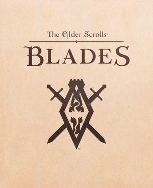 Cover for The Elder Scrolls: Blades.