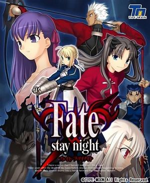 Cover for Fate/stay night.