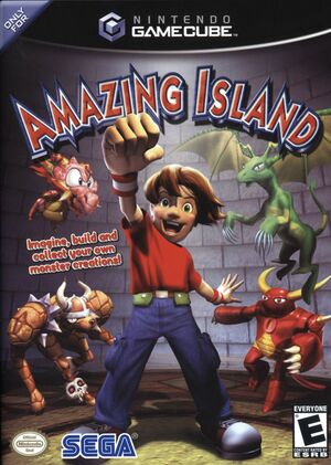 Cover for Amazing Island.