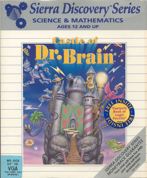 Cover for Castle of Dr. Brain.