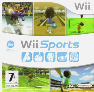 Cover for Wii Sports.