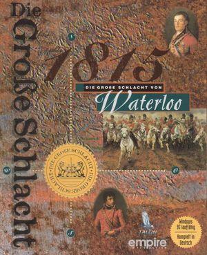 Cover for Battleground 3: Waterloo.