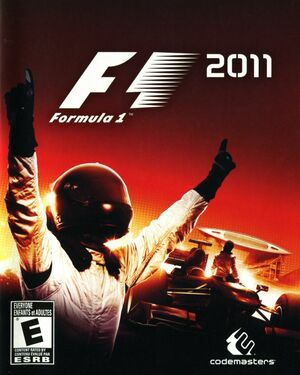 Cover for F1 2011.