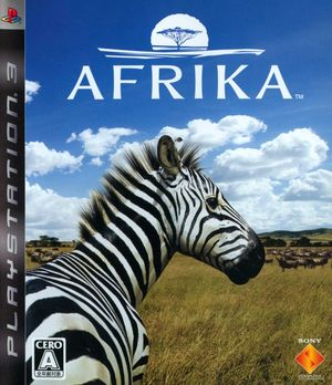 Cover for Afrika.