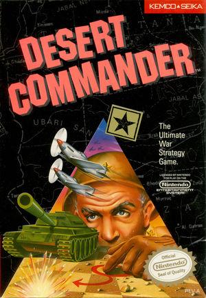 Cover for Desert Commander.