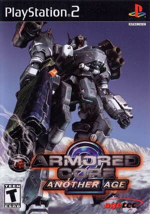 Cover for Armored Core 2: Another Age.