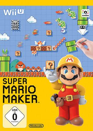 Cover for Super Mario Maker.