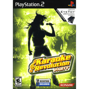 Cover for Karaoke Revolution Party.