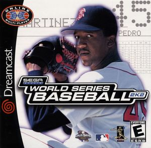 Cover for World Series Baseball 2K2.