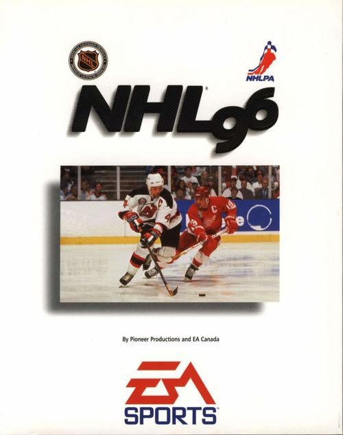 Cover for NHL 96.