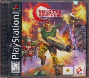 Cover for C: The Contra Adventure.