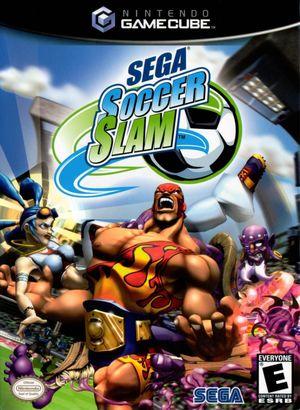 Cover for Sega Soccer Slam.