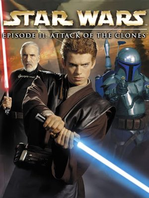 Cover for Star Wars Episode II: Attack of the Clones.